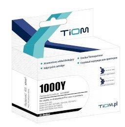 Tusz Tiom do Brother 1000Y | LC1000Y | 400 str. | yellowTusz Tiom do Brother 1000Y...