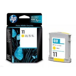 Tusz HP 11 do Business 2800, Designjet 110/111 | 2 350 str. | yellowTusz HP 11 do Business...