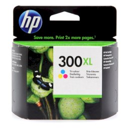 Tusz HP 300XL do Deskjet D1660/2560/2660/5560, F2480/4280   440 str.   CMYTusz HP 300XL do Deskjet...