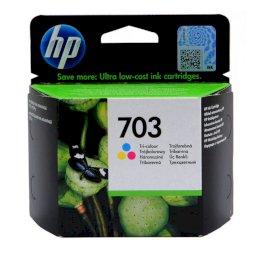 Tusz HP 703 do Deskjet Ink Advantage F730/735   250 str.   CMYTusz HP 703 do Deskjet Ink...