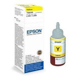 Butelka z tuszem  Epson  T6644 do  L-100/200/210/300/355/550  | 70ml | yellowButelka z tuszem  Epson...