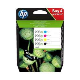 Zestaw tuszy HP 903XL C/M/Y/kZestaw tuszy HP 903XL C/M/Y/k