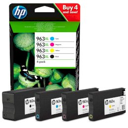Zestaw tuszy HP 963XL C/M/Y/KZestaw tuszy HP 963XL C/M/Y/K