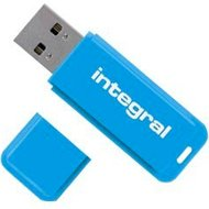 Integral pamięć USB 2.0 neon blue 8GBIntegral pamięć USB 2.0...