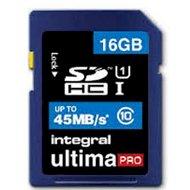 Integral karta pamięci SDHC 16GB CLASS 10 - transfer do 45Mb/sIntegral karta pamięci SDHC...