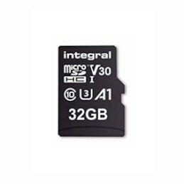 Integral karta pamięci  micro SDHC 32GB High Speed V30 UHS-I U3 100/30Integral karta pamięci...