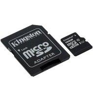 Kingston karta pamięci microSDHC Canvas Select CL10 UHS-I | 16 GB | + AdapterKingston karta pamięci...