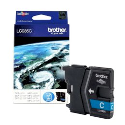 Tusz Brother do DCPJ125/315W/515W/220/265W/410/415w   260 str.   cyanTusz Brother do...