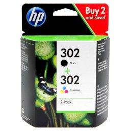 Tusz HP 2-Pack 302 | 1 x 3,5ml + 1 x 4ml | black + tri-colorTusz HP 2-Pack 302 | 1 x...